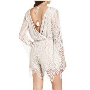 NWT lace romper